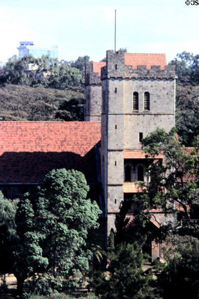 All Saints Cathedral in Nairobi. Kenya.