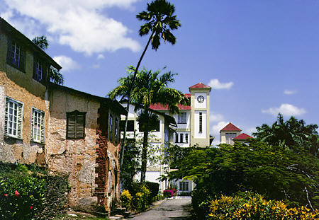 Benedictine Monastery at Tuna Puna on Trinidad. Trinidad and Tobago.