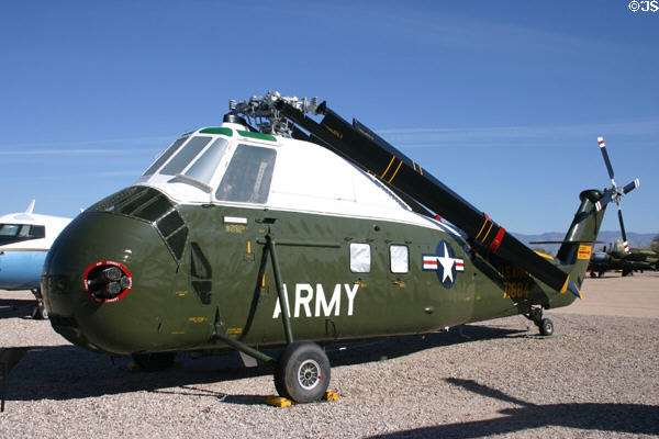 Sikorsky VH-34C [aka Choctow] which ferried U.S. Presidents (1955-70), Pima Air & Space Museum. Tucson, AZ.