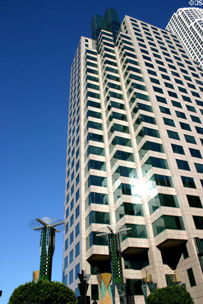 801 Tower (1992) (24 floors) (801 South Figueroa St.). Los Angeles, CA. Architect: Architects Collaborative.