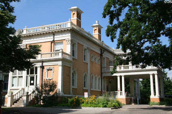 Grant-Humphreys Mansion (1902) (770 Pennsylvania St.). Denver, CO. Architect: Theodore Boal + Frederick Harnois. On National Register.