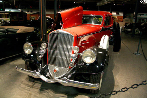 Pierce Arrow Enclosed Drive Limousine (1934) at Forney Museum. Denver, CO.