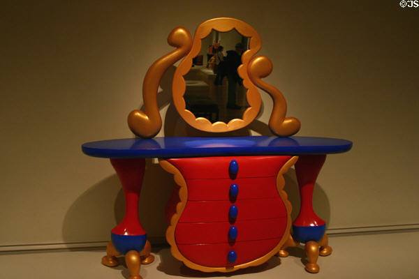 Uncle Rick's Wonderland (1997) chest with mirror by Richard Ford in Renwick Museum. Washington, DC.