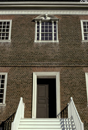 Bryce House (1766-73) (42 East St.). Annapolis, MD.