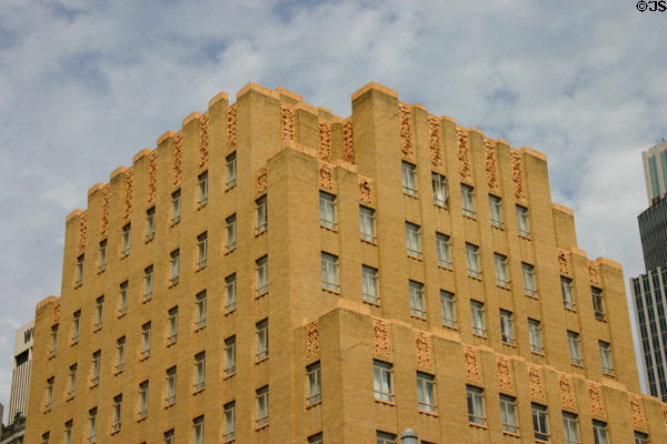 Redick Plaza Hotel Tower (1930) (12 floors) (1504 Harney St.). NE. Architect: Joseph G. McArthur.