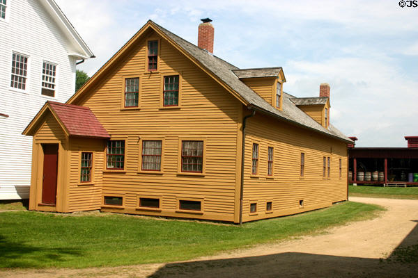 Syrup shop (1785/1847) in Canterbury Shaker Village. NH.