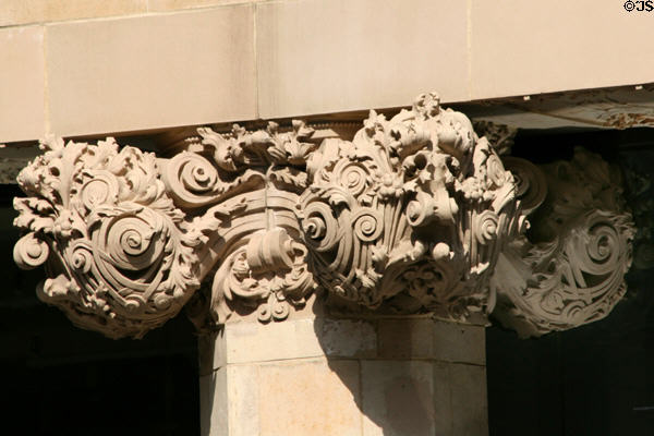 Baynard-Condict Building sculpted capital by Louis H. Sullivan. New York, NY.
