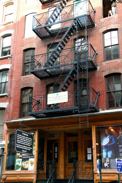 Lower East Side Tenement Museum (1863) (97 Orchard St.). New York, NY.