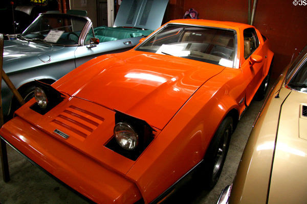 Bricklin (1975) at LeMay Museum. Tacoma, WA.