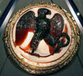 Eagle onyx cameo at Kunsthistorisches Museum. Vienna, Austria.
