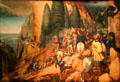 Conversion of Paul painting by Pieter Brueghel the Elder at Kunsthistorisches Museum. Vienna, Austria.