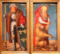 St. Jerome & St. Leopold painting by Lucas Cranach the Elder at Kunsthistorisches Museum. Vienna, Austria.