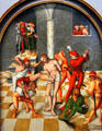 Flagellation of Christ painting by Lucas Cranach the Elder at Kunsthistorisches Museum. Vienna, Austria.