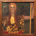 Pallas Athene painting by Gustav Klimt at Historical Museum of City of Vienna. Vienna, Austria.
