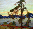 Painting by Tom Thomson at National Gallery of Canada. Ottawa, ON.