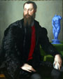 Portrait of Pierantonio Bandini by Bronzino at National Gallery of Canada. Ottawa, ON.