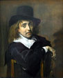Portrait of Seated Man by Frans Hals at National Gallery of Canada. Ottawa, ON.
