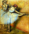 Dancers at the Bar by Edgar Degas at National Gallery of Canada. Ottawa, ON.