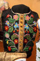 Beaded man's vest at RCMP Heritage Center. Regina, SK.