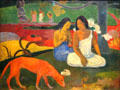 Arearea painting by Paul Gauguin at Musée d'Orsay. Paris, France.