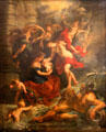 2. Birth of the Princess, in Florence April 26, 1573, from Marie de' Medici Cycle by Peter Paul Rubens at Louvre Museum. Paris, France.
