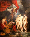 3. Education of the Princess from Marie de' Medici Cycle by Peter Paul Rubens at Louvre Museum. Paris, France.