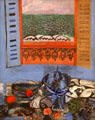Still Life with Fish & Fruit painting by Raoul Dufy at Nice Fine Arts Museum. Nice, France.