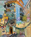 May in Nice painting by Raoul Dufy at Nice Fine Arts Museum. Nice, France.