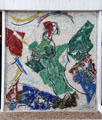 The Lovers mosaic by Marc Chagall at Fondation Maeght. St Paul de Vence, France.