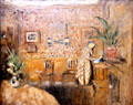 Interior with Two Chairs painting by Edouard Vuillard at Museum of the Annonciade. St Tropez, France.