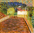 Pink Road painting by Pierre Bonnard at Museum of the Annonciade. St Tropez, France.