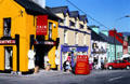 Village of Sneem on Ring of Kerry driving route. Ireland.