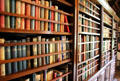 Library shelves at Russborough House. Ireland.