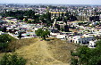 Overview of city of Cholula. Mexico.