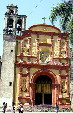 Chapel on grounds of Cathedral in Cuernavaca. Mexico.