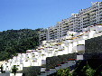 Modern apartments on hills of Acapulco. Mexico.