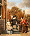 Adolf & Catharina Croeser painting by Jan Steen at Rijksmuseum. Amsterdam, NL.