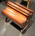 Letter casket used by Louis Napoleon, King of Holland in his palace at Rijksmuseum. Amsterdam, NL.