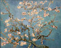 Almond blossom painting by Vincent van Gogh at Van Gogh Museum. Amsterdam, NL.