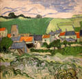 View of Auvers at Van Gogh Museum, Amsterdam.