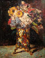 Still life of flowers painting by Adolphe Monticelli admired by van Gogh at Van Gogh Museum. Amsterdam, NL.