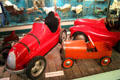 Pedal cars at Museum of Childhood. Edinburgh, Scotland.