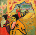 Japanese Theater painting by Ernst Ludwig Kirchner at Scottish National Gallery of Modern Art & Dean Gallery. Edinburgh, Scotland.