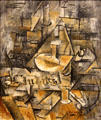 Candlestick painting by Georges Braque at Scottish National Gallery of Modern Art & Dean Gallery. Edinburgh, Scotland.