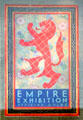 Empire Exhibition Official Guide in Heritage Centre in Bellahouston Park where exhibition was held. Glasgow, Scotland.