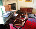 Professor's room at Kellie Castle. Pittenweem, Scotland.