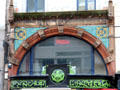 Commercial building with Celtic revival decor. Belfast, Northern Ireland.