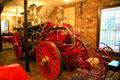Steam water pumper fire engine at Phoenix Fire Museum. Mobile, AL.