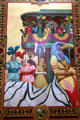 Mural of Mobile Mardi Gras by Glidden Group in Battle House Hotel. Mobile, AL.