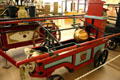 English manual fire engine in Firefighting Hall of Flame Museum. Phoenix, AZ.